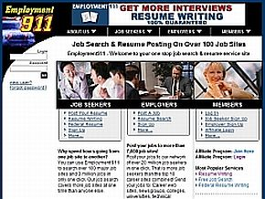 Employment911.com Review | Company's Home Page