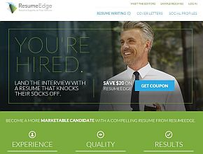 Resume Edge Homepage  Resume Edge